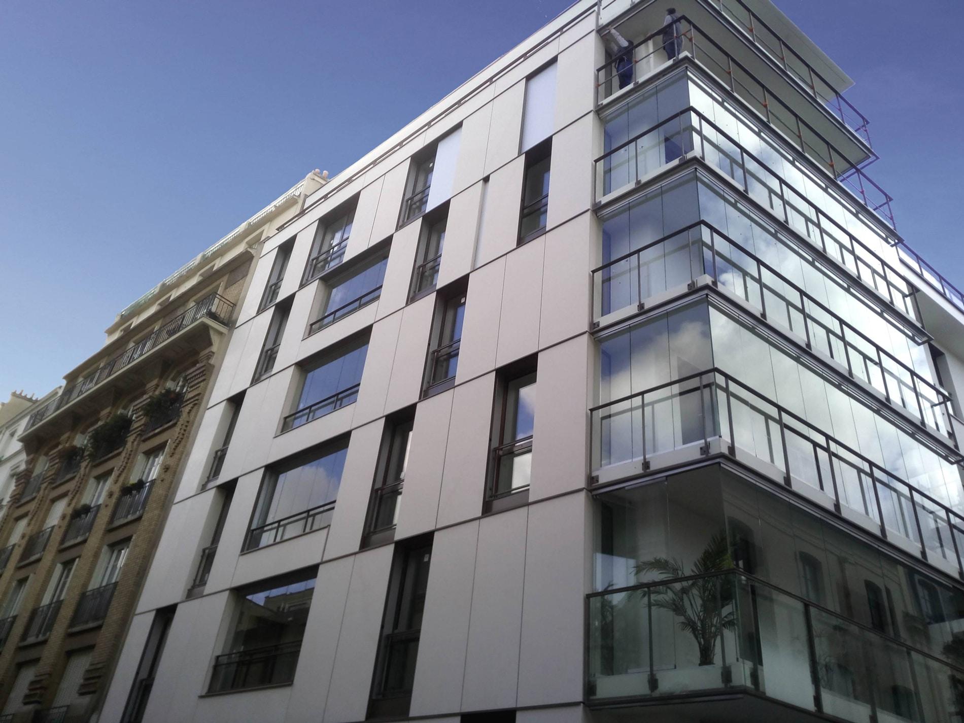 Schiebe-Faltsystem für große Balkone