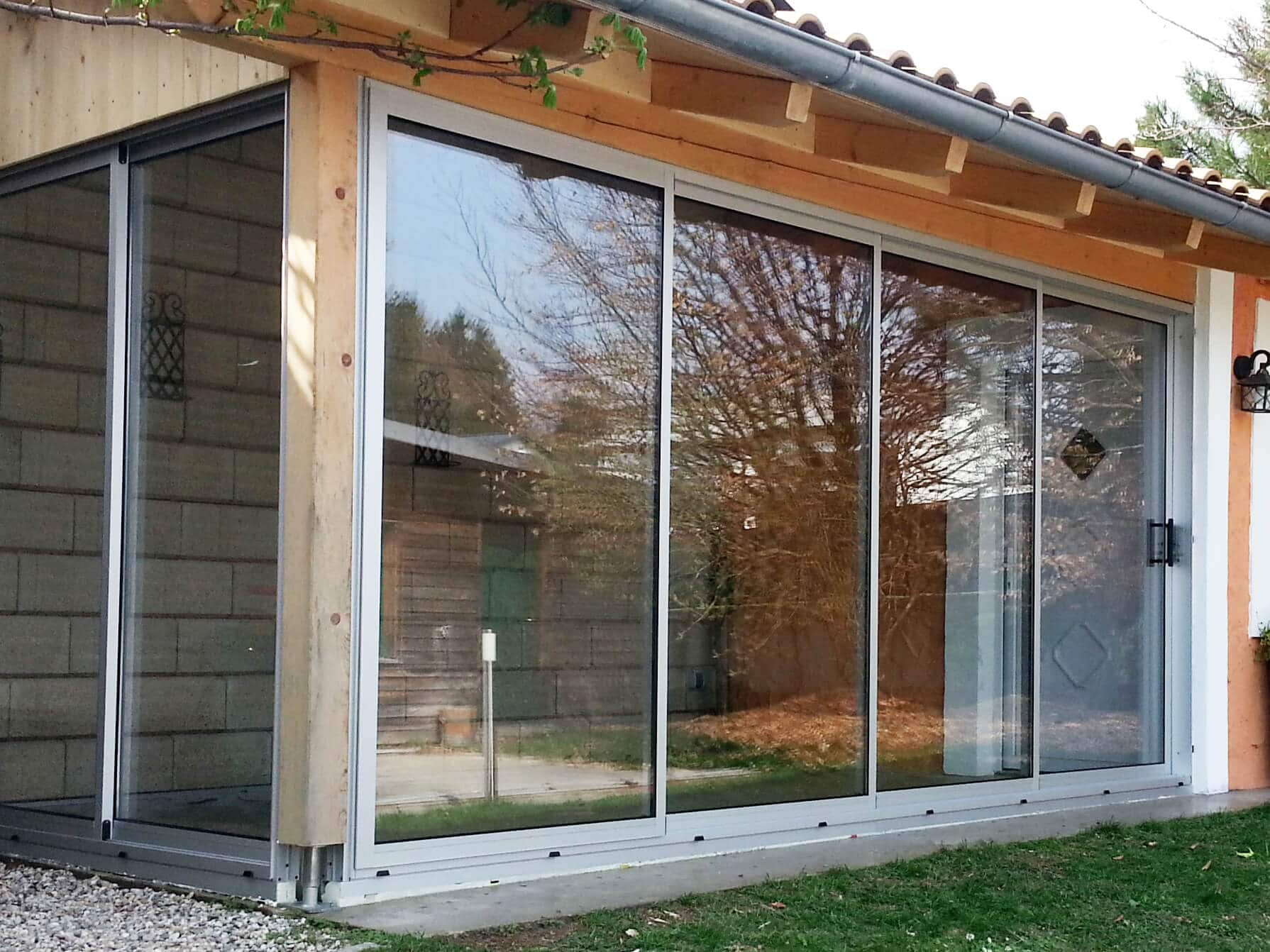 Schiebefenster horizontal
