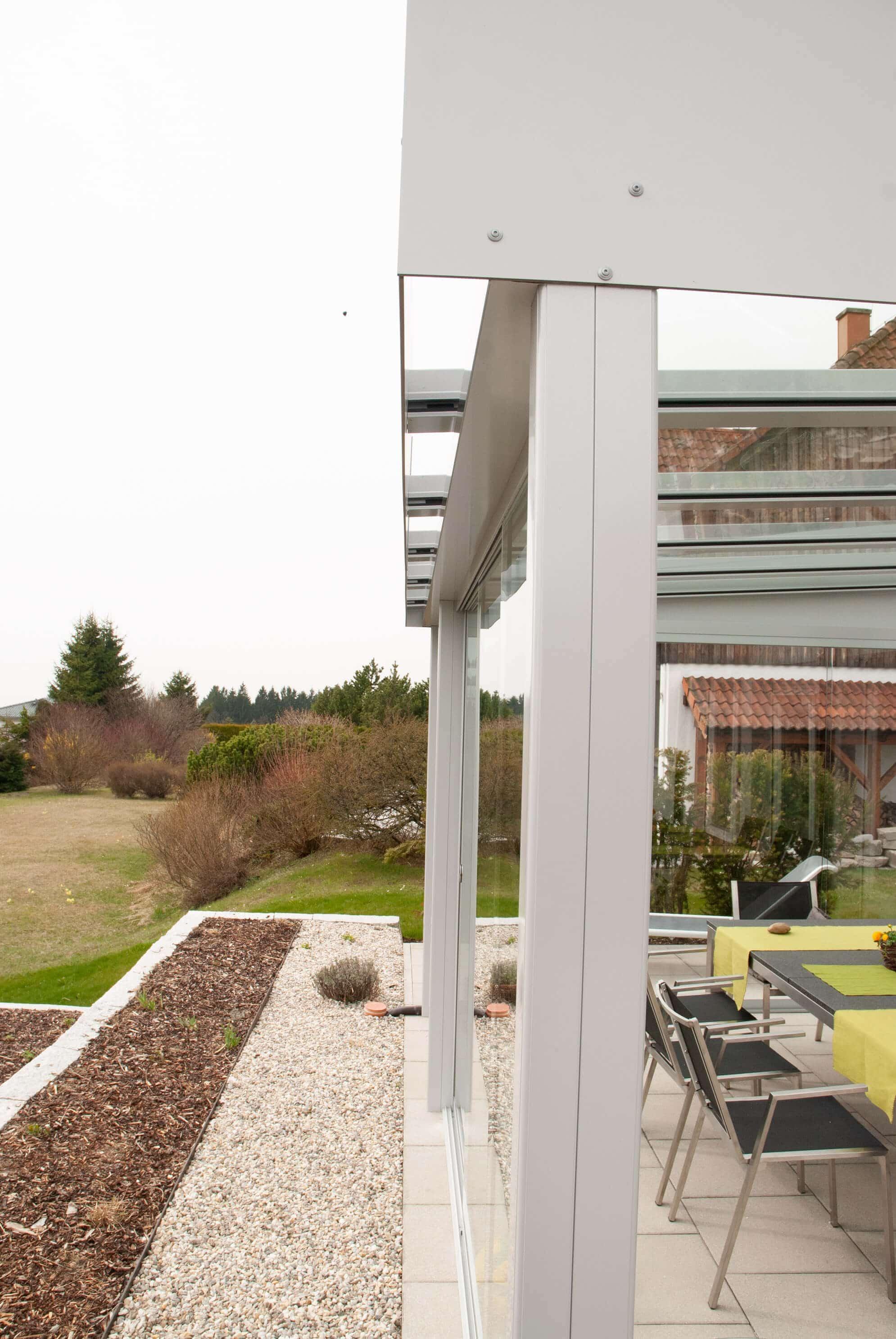 Schiebesysteme für Terrassenverbau