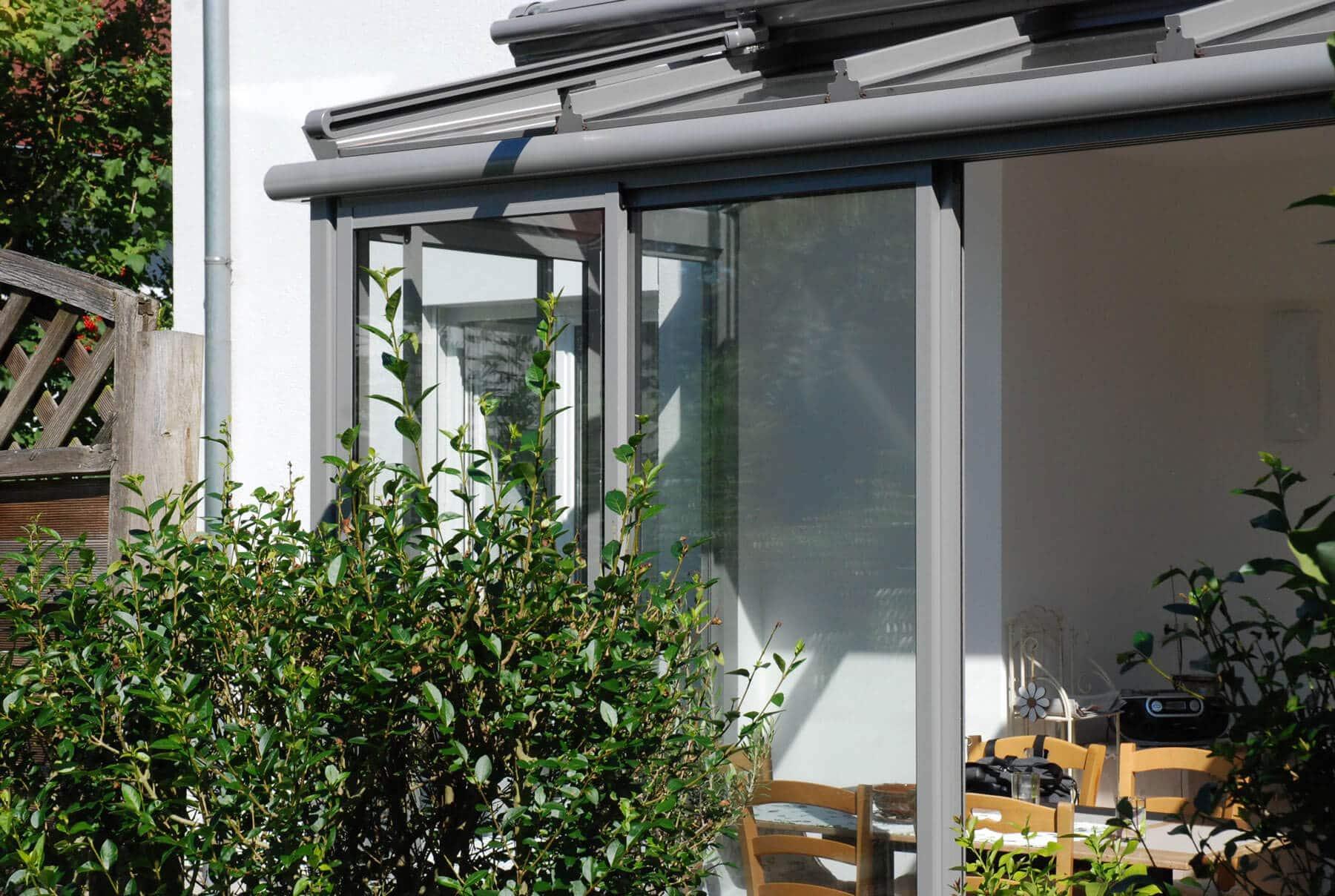 Sommergarten Alu Glas Oberösterreich - Fenster Schmidinger