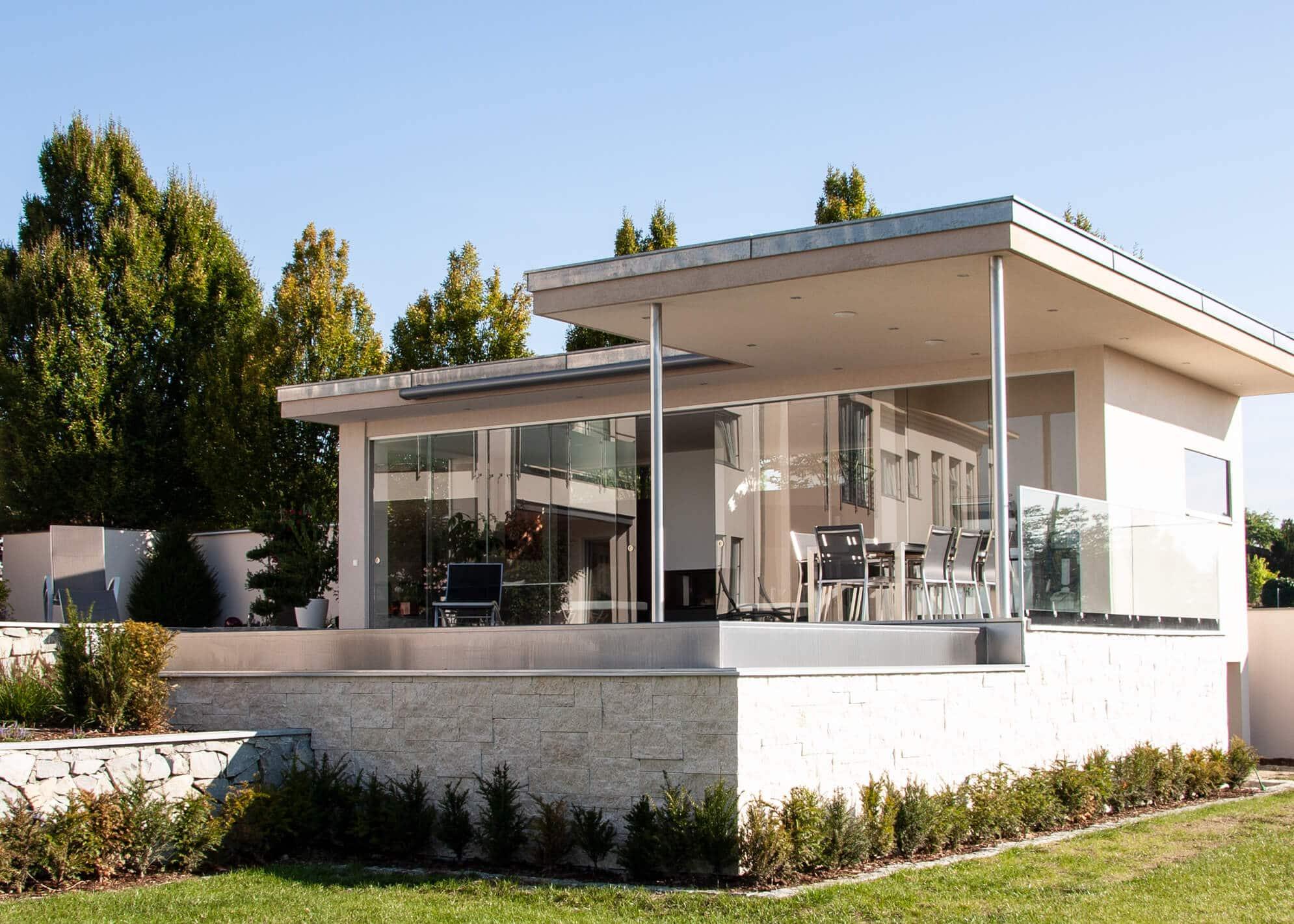 Schiebetürsysteme Terrasse Außenbereich