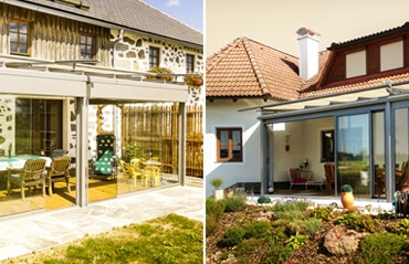 Unterschied Wintergarten / Sommergarten