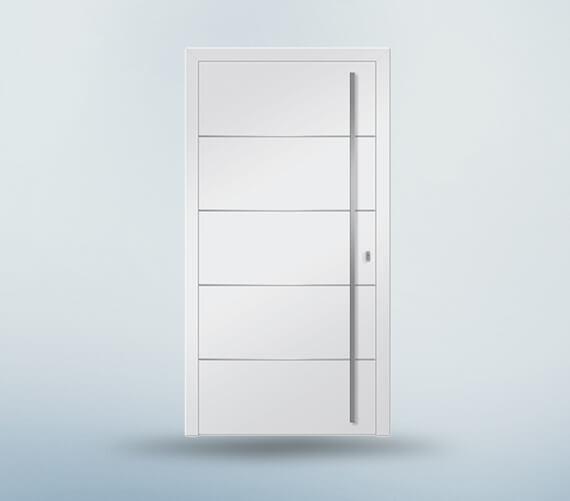 flügelüberdeckende Türe