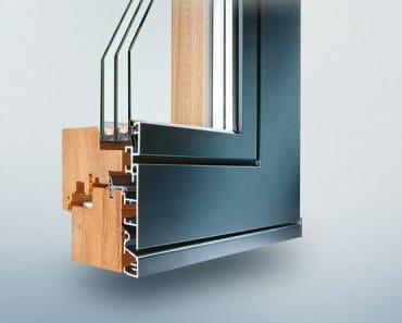 Holz-Aluminium-Fenster Plano