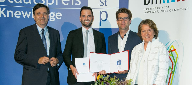 Schmidinger Staatspreis KnewLEDGE