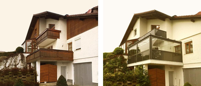 Balkonverglasung Oberösterreich