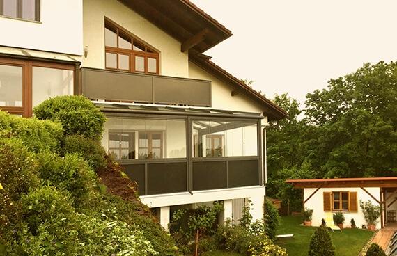 Kundenbilder Balkonverglasungen Oberösterreich