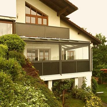Referenzen Balkonverglasungen Oberösterreich