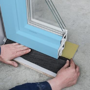 Dichtband für die ÖNORM B5320 Fenstermontage