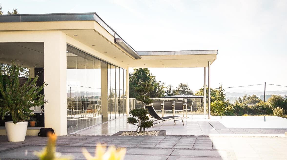 Balkonverglasung und Glasschiebetüren - Glasschiebetüren Oberösterreich