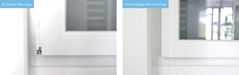Sichtbarer vs. Verdecktliegender Beschlag - Vor- und Nachteile im ...