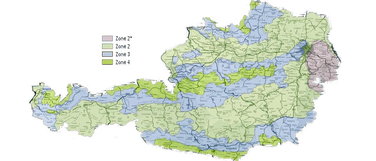 Schneelast Österreich