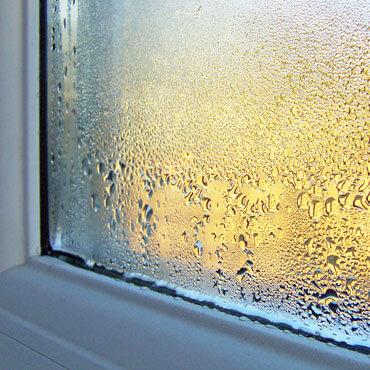 Schwitzendes Fenster