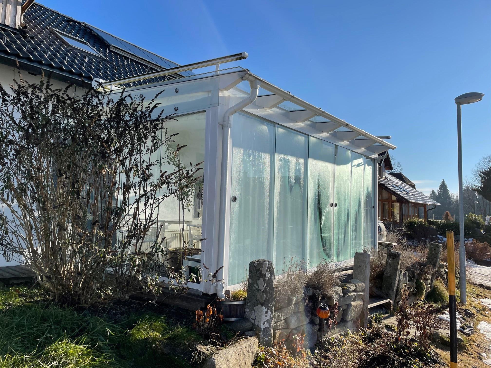 Seitenwände für bestehende Terrassenüberdachung