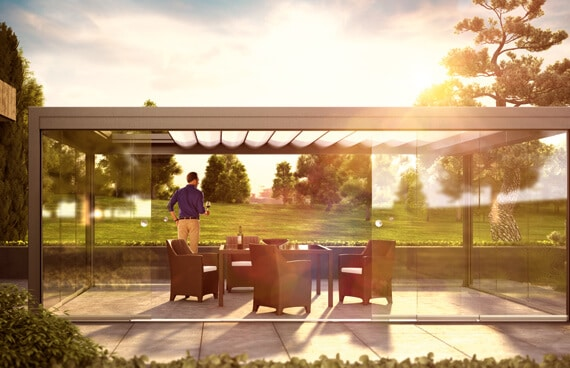 Sunflex SF 20 Terrassenverglasung