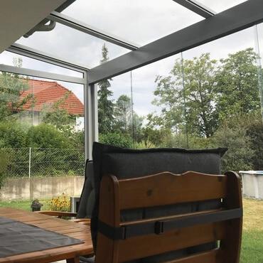 Sommergärten und Glashäuser nach Maß