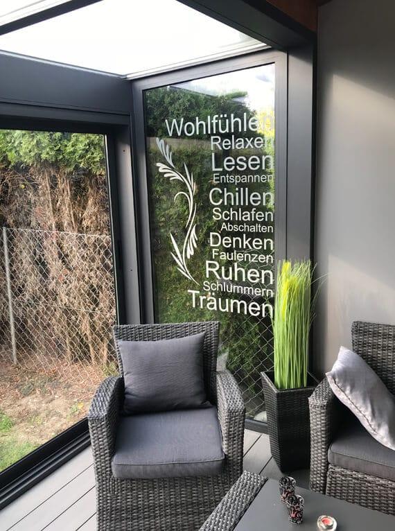 Sommergärten mit Isolierglas