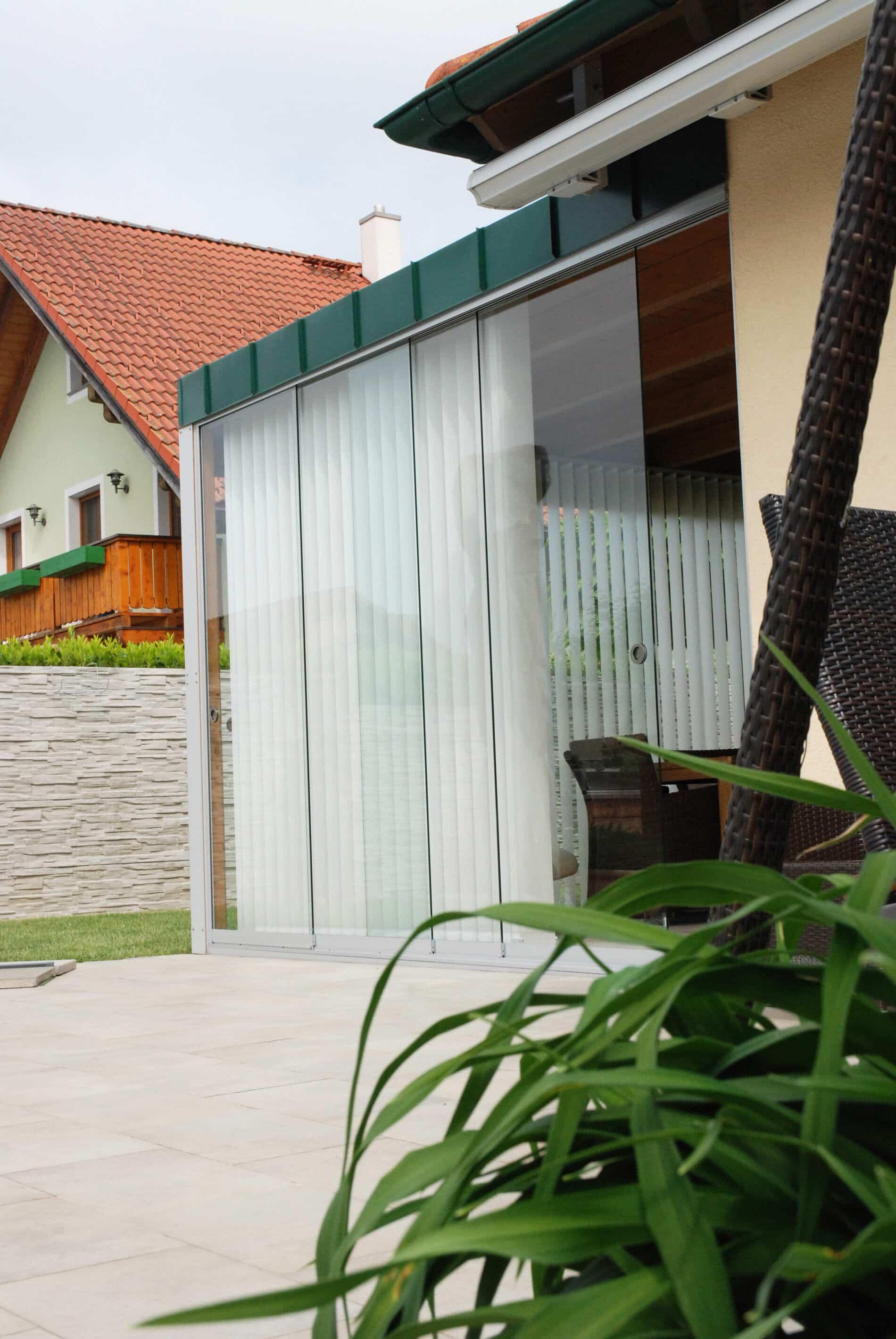 Sommergarten Anbau Glas