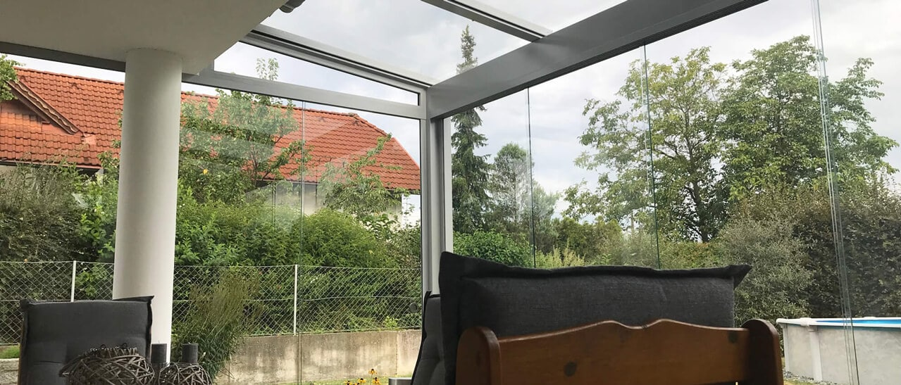 Sommergarten anstatt Wintergarten