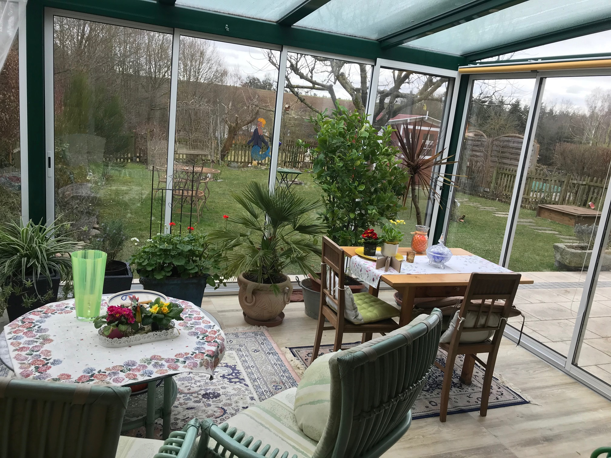 Sommergarten Bilder - Kaltes System