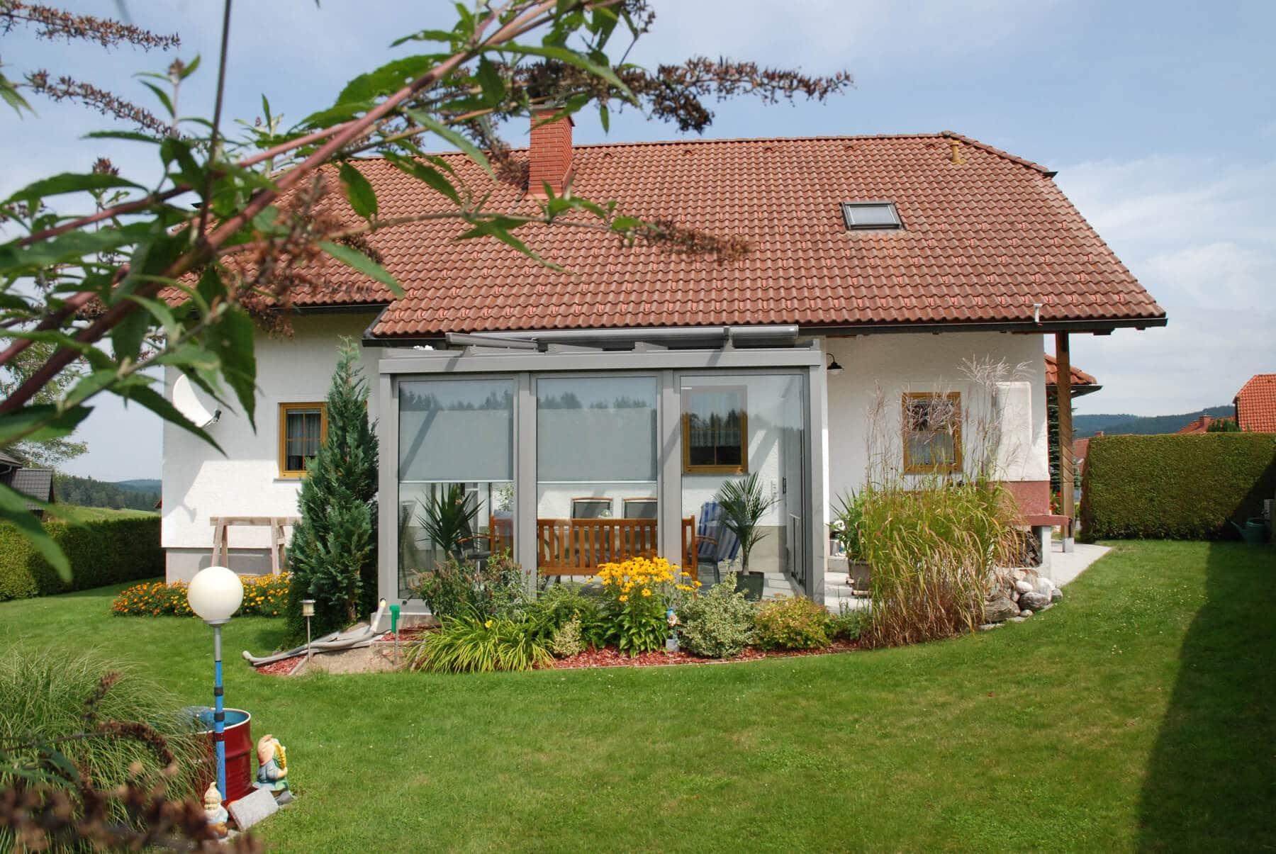Sommergarten für Einfamilienhaus