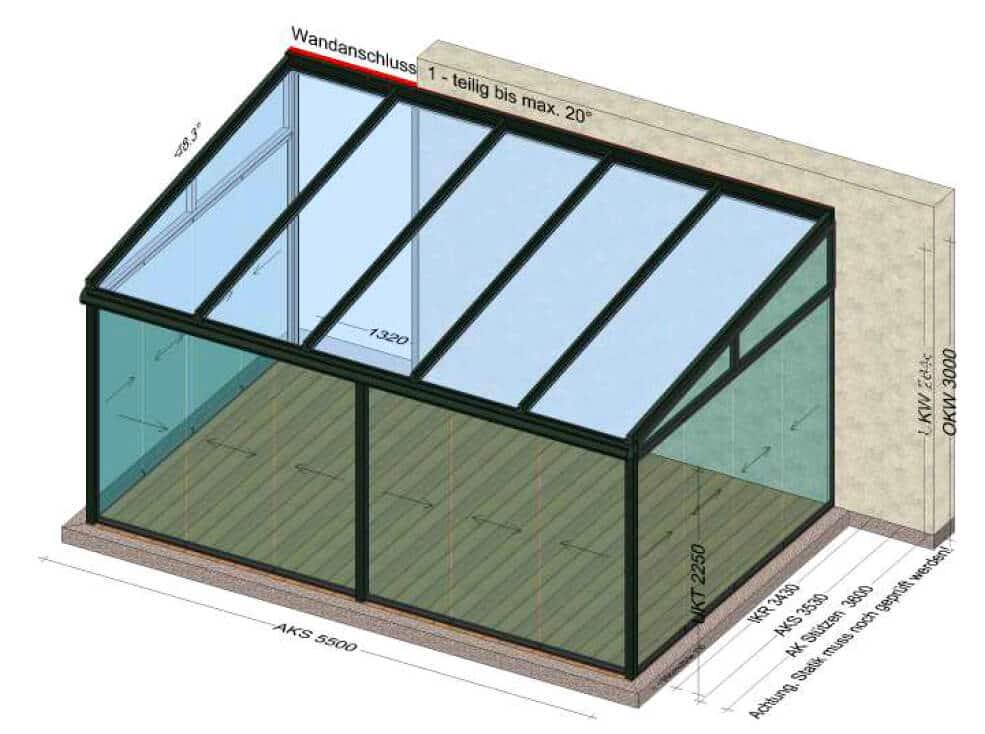 Sommergarten Glasschiebeelemente
