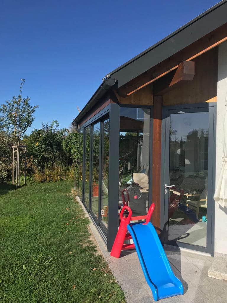 Sommergarten Terrassenverglasungen - Maßanfertigung