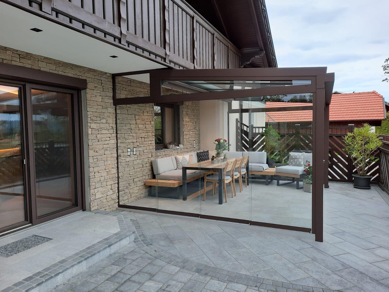Sommergarten Verglasung in 4727 Eschenau im Hausruck