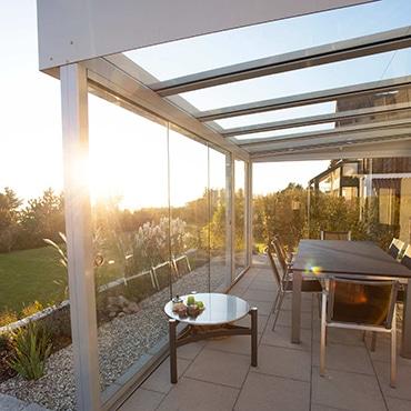 Sonnenschutzglas für Wintergarten