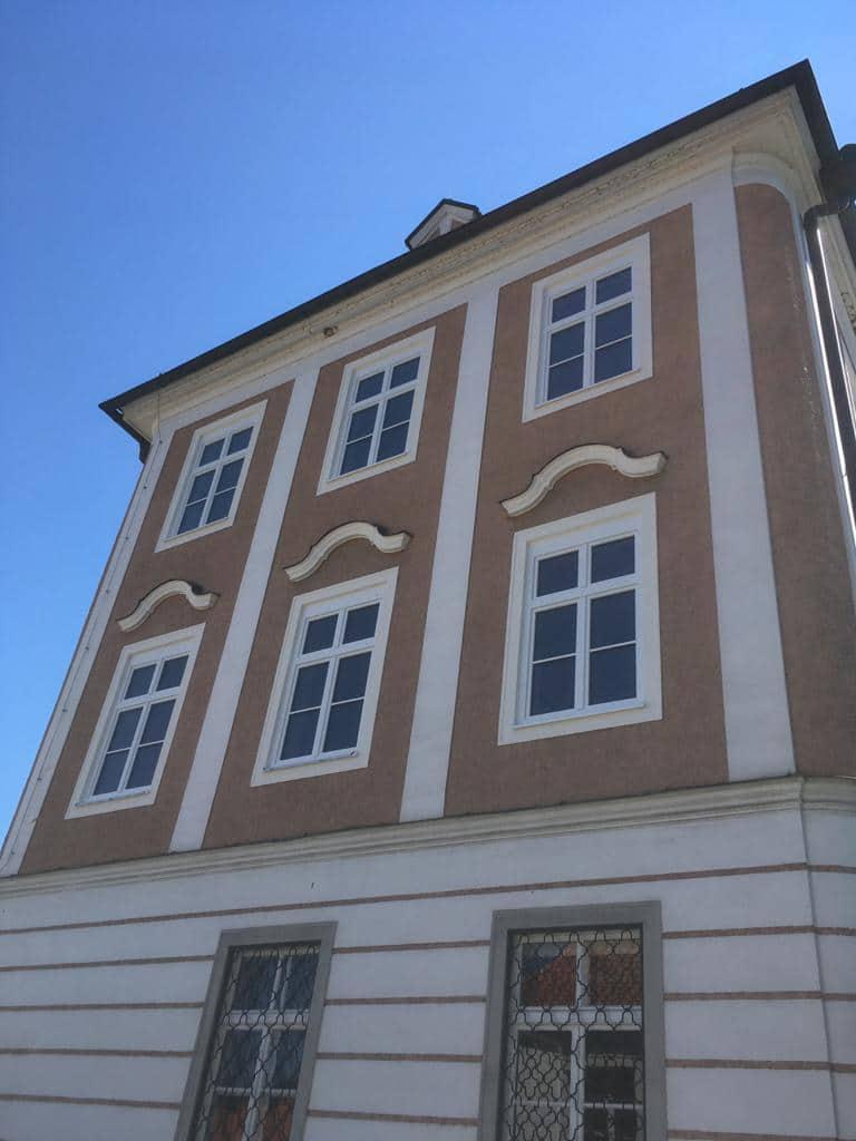 Sprossenfenster mit Dreifachverglasung