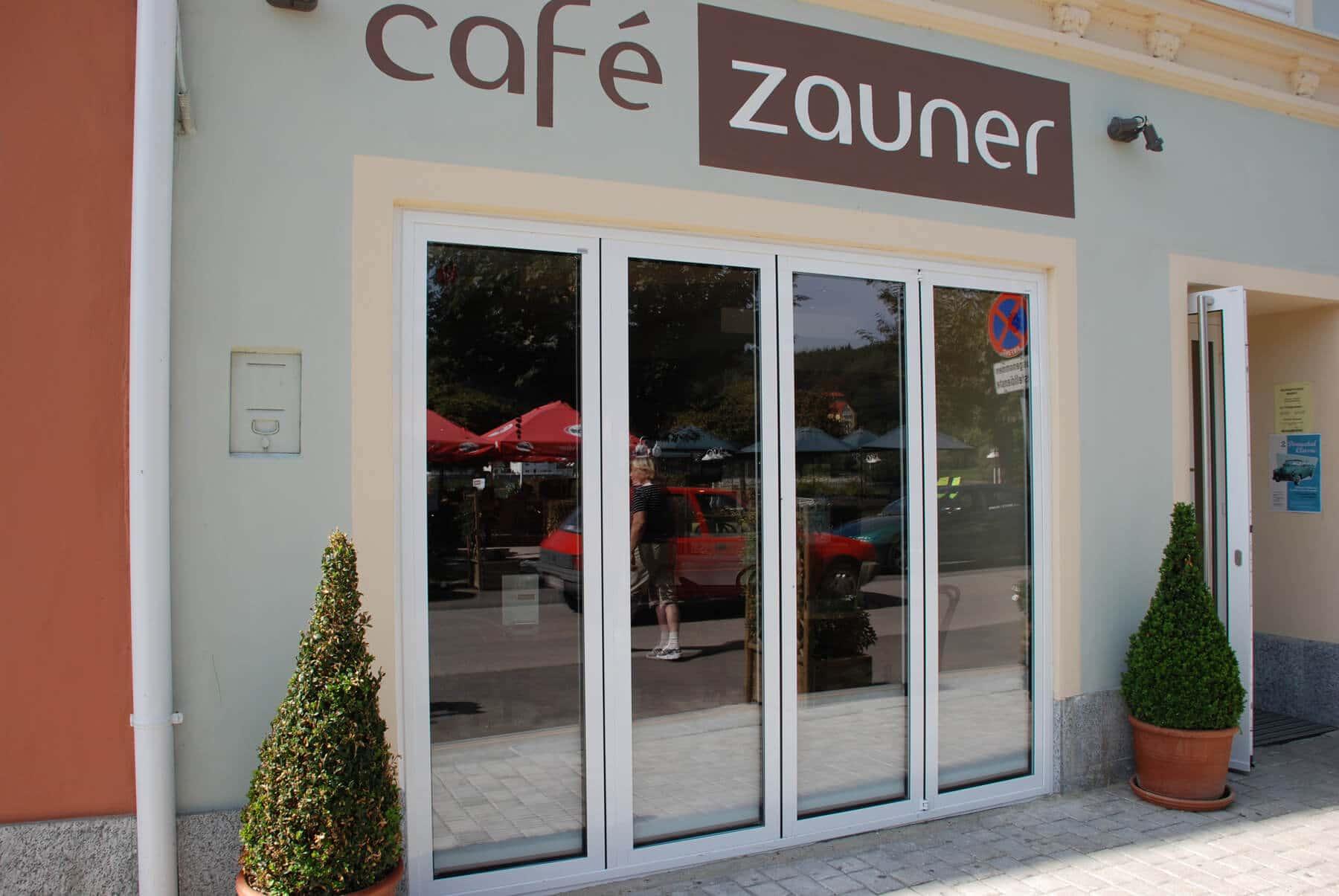 Sunflex faltbare Türen für Cafe