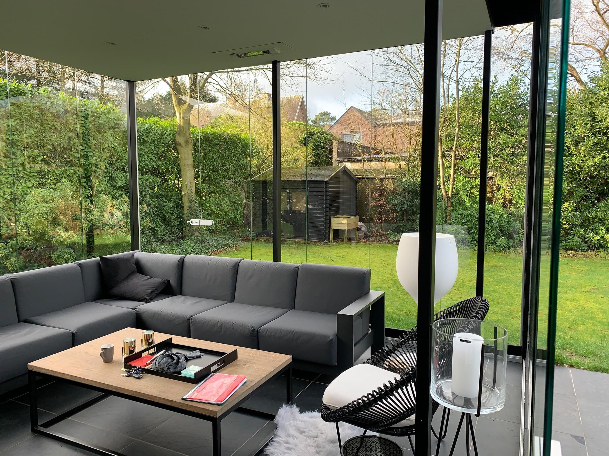 Sunflex Schiebe-Dreh-Systeme für Wintergärten