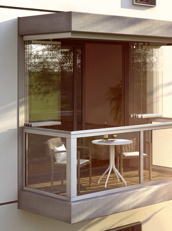 Sunflex SF 25 Balkonverglasung