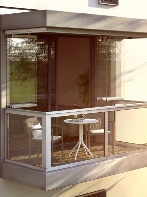 Sunflex SF 30 Balkonverglasung