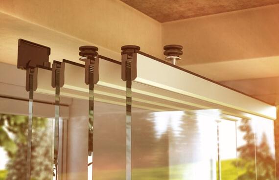 Sunflex SF 30 Detail Terrassenverglasung