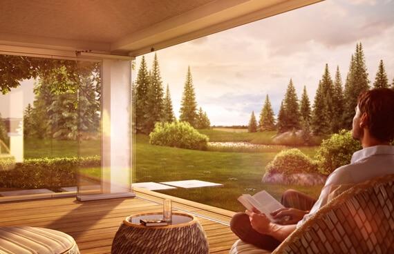 Sunflex SF 30 Terrassenverglasung