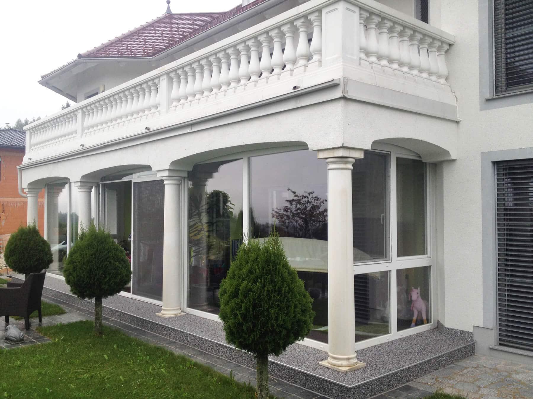 Terrasse als Wohnraum nutzen