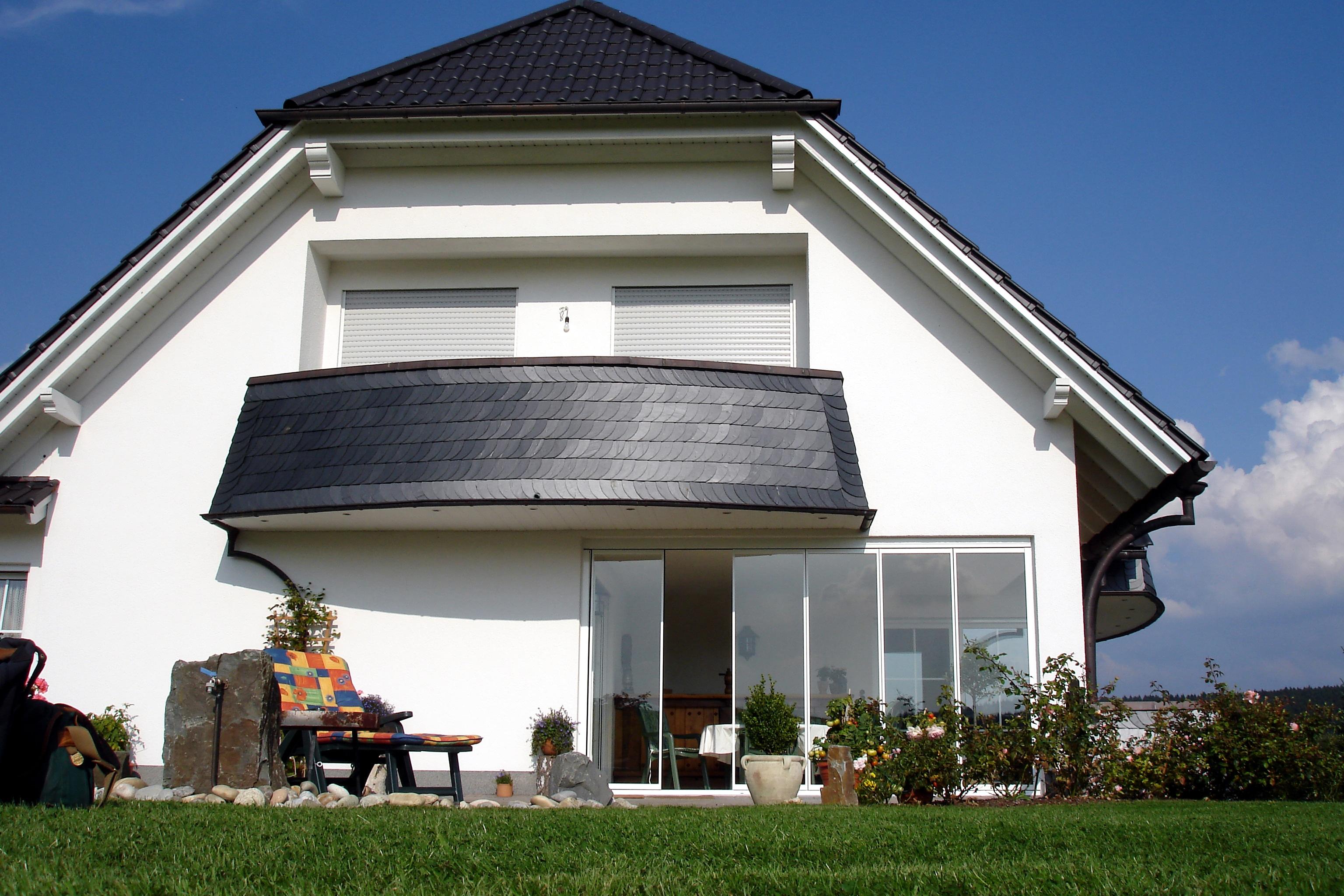 Terrasse vor stärkerem Wind schützen