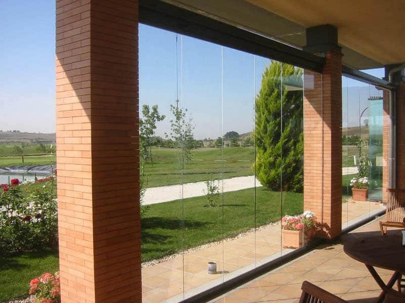 Terrassen-/Balkonschiebewände