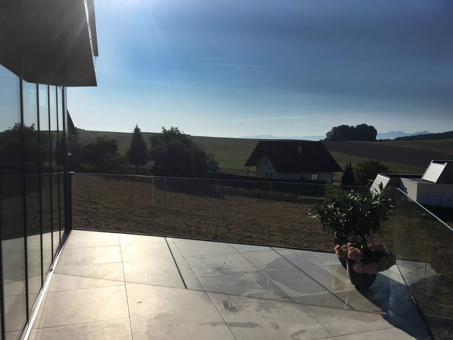 Terrassen Faltelemente Alu
