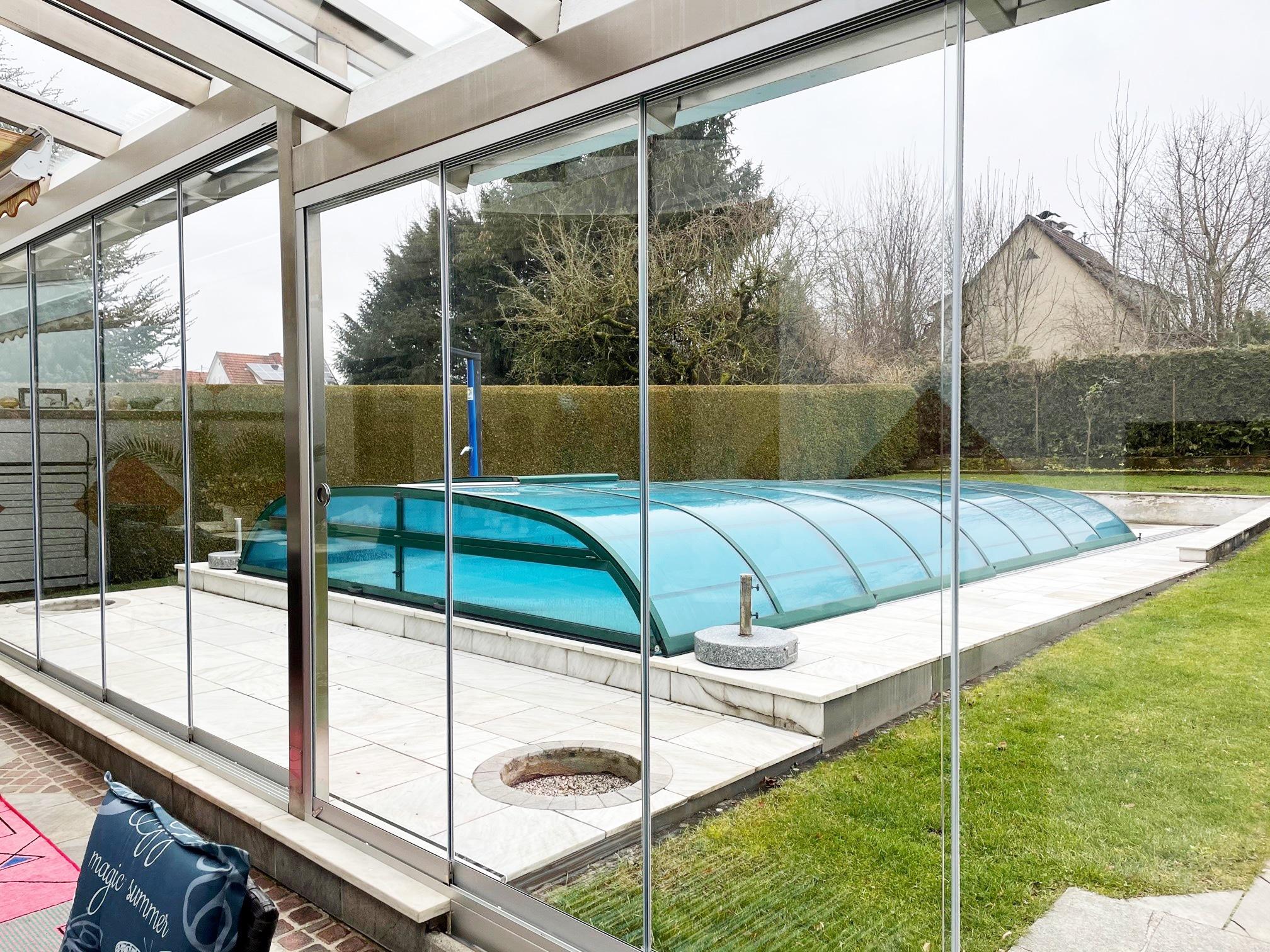 Terrassen Schiebewand nachträglich einbauen