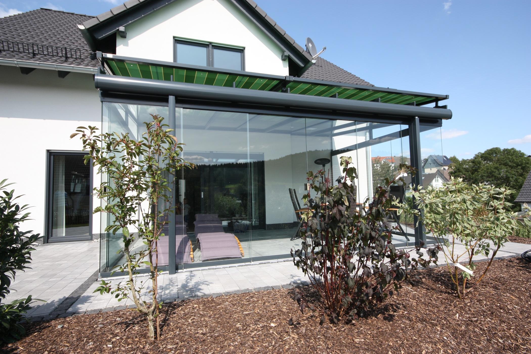 Terrassendach Glas & Schiebetüren OÖ
