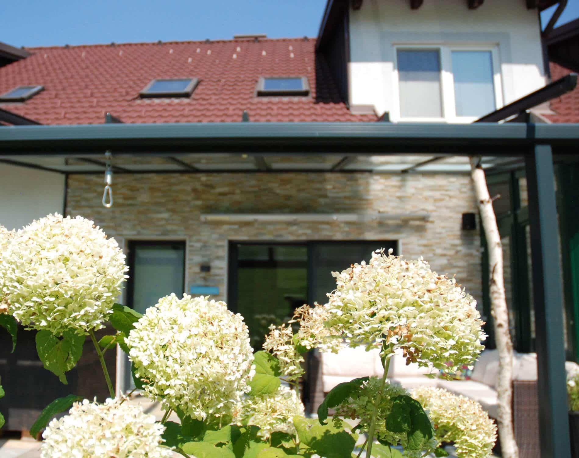 Terrassenüberdachung Allwetter