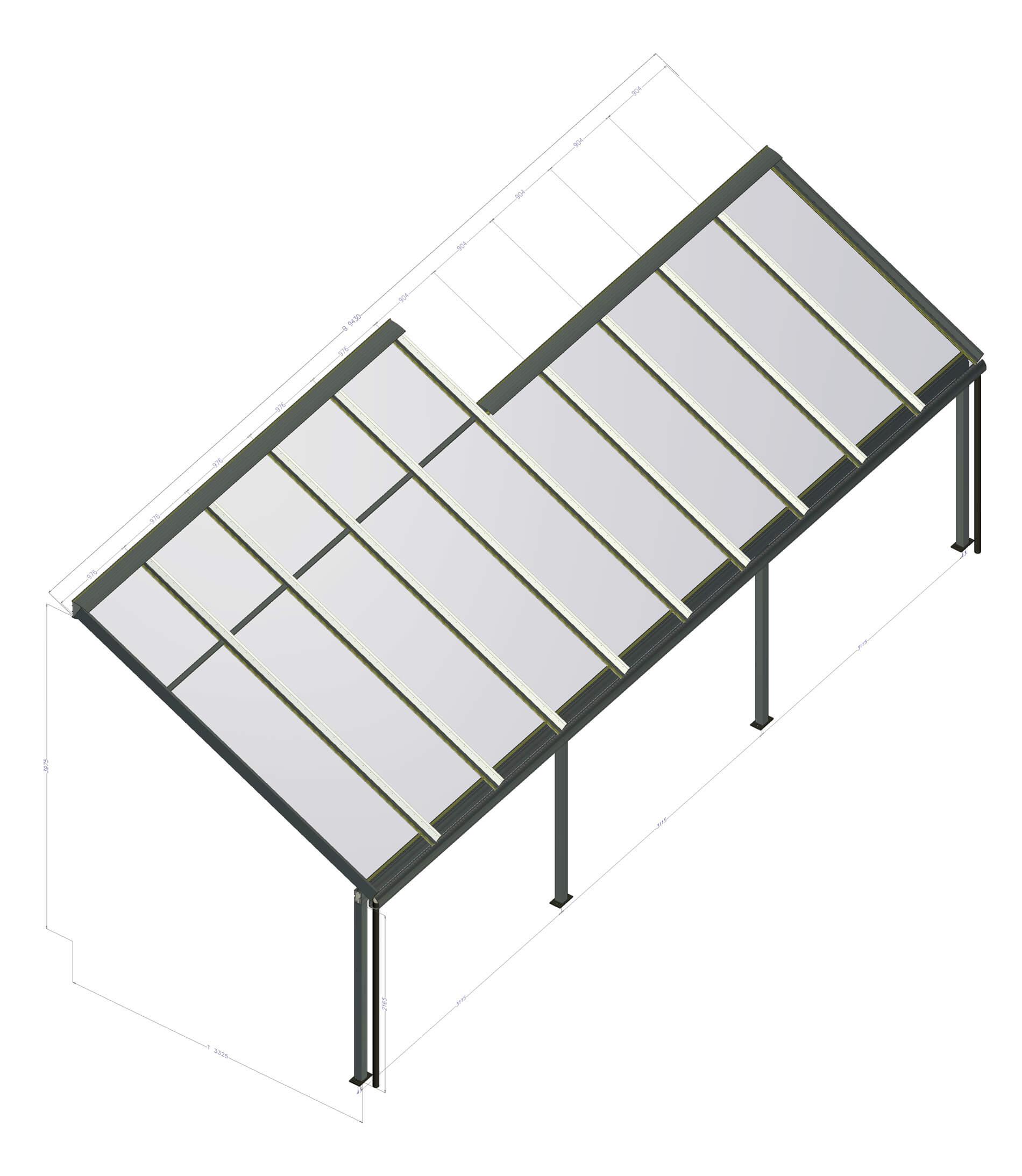Terrassenüberdachung Aluminium Österreich