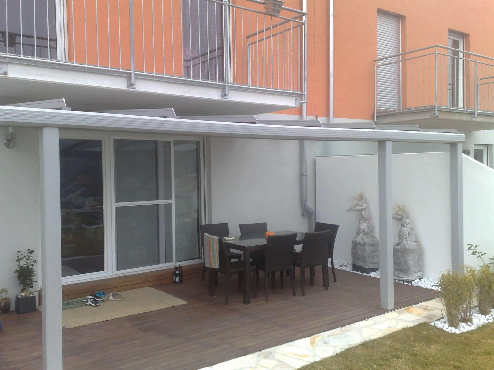 Terrassenüberdachung Glas Preis