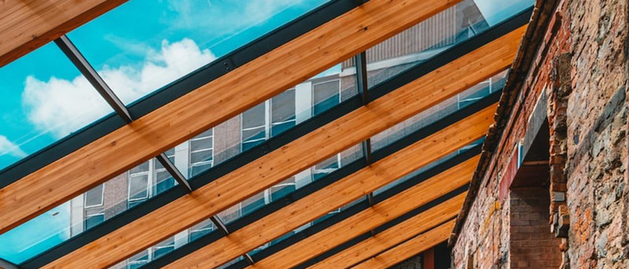 Terrassenüberdachung Holz
