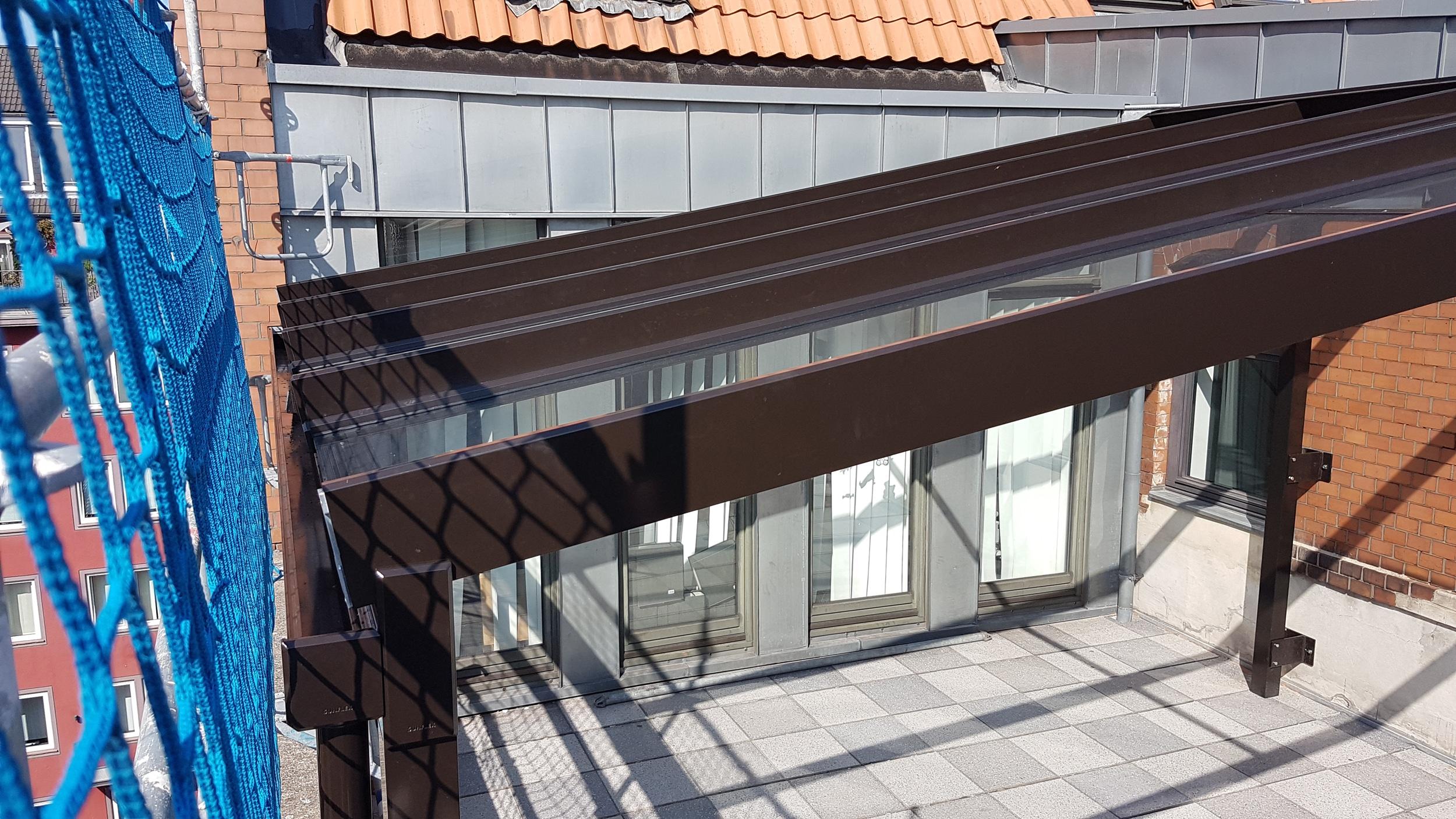 Terrassenüberdachung Maßanfertigung