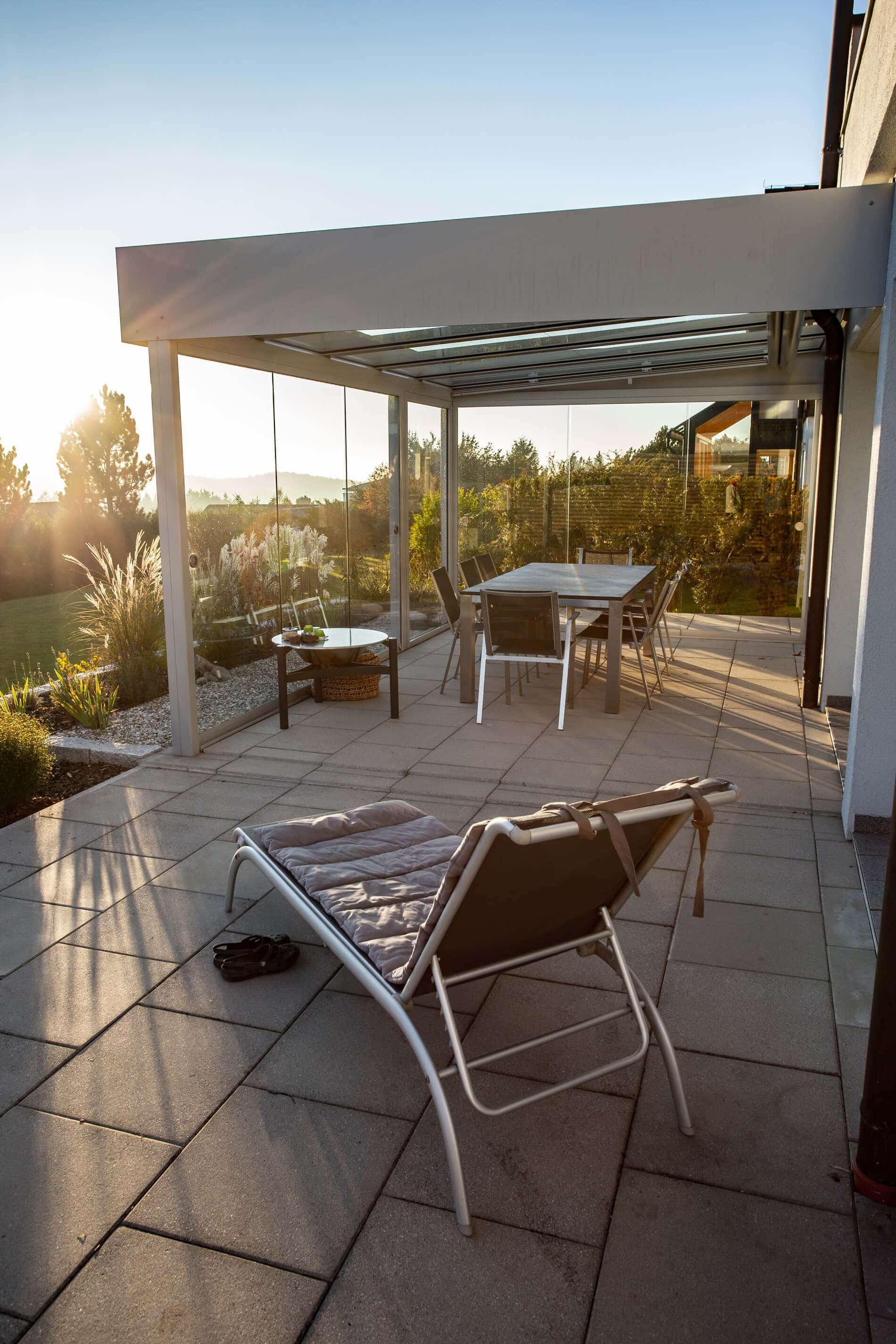 Terrassenüberdachung modern Preis