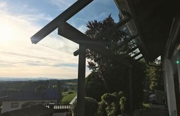 Terrassenüberdachung Planung
