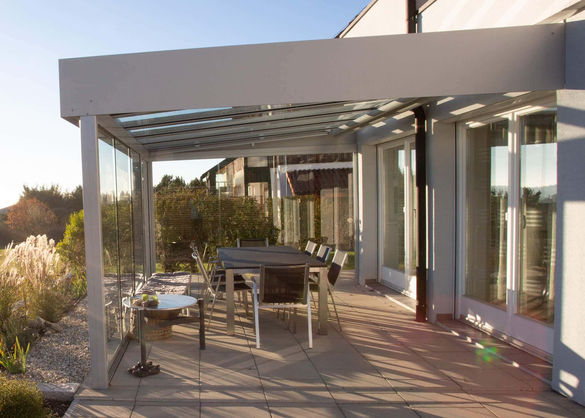 Terrassenüberdachung Sommergarten